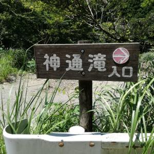 2020年徳島県神山!!!神通滝(じんつうだき)&姫の滝散歩!