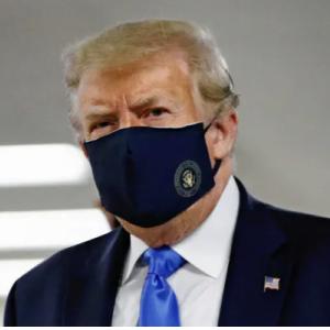 世にも奇妙な行動と言動?トランプ大統領がマスク姿をお披露目!なぜ今頃って・・・