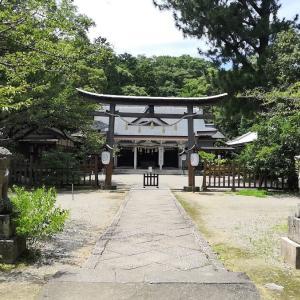 徳島市にある忌部神社を散歩!