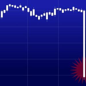 ドル円が一時106円割れ。豪ドルやダウも下落。