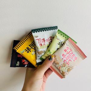 定番韓国土産★Tom's farm アーモンド5種食べ比べてみた!!