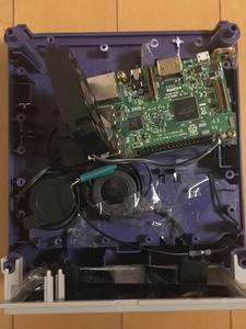 ゲームキューブにPC入れてみる計画 その2 Raspberry Pi組み込み