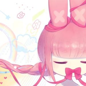 イラスト投稿【ピンクうさぎちゃん】