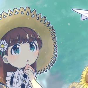 イラスト投稿【夏休みの女の子】