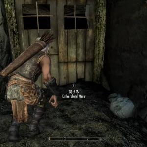 Xboxスカイリムmod紹介動画2 エンバーシャード鉱山にあるはずの鍵が【恐怖の現場】