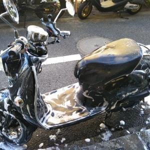 #バイク屋の日常 #ヤマハ #ビーノ #洗車 #納車準備