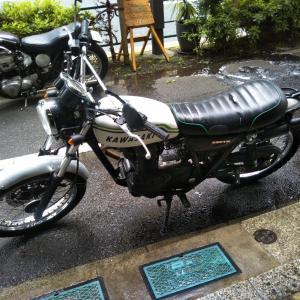 #バイク屋の日常 #カワサキ #250TR #修理完了 #洗車