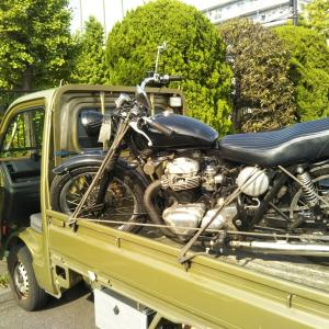 #バイク屋の日常 #車検 #W650 #品川 #合格