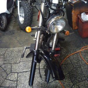 #バイク屋の日常 #スズキ #グラストラッカー #フォーク #オーバーホール #品番 #やりがい
