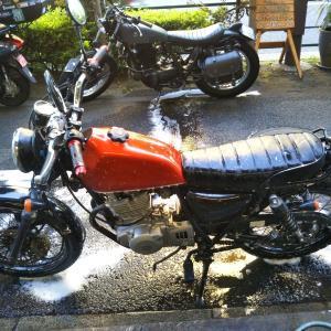 #バイク屋の日常 #スズキ #グラストラッカー #修理 #洗車
