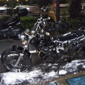 #バイク屋の日常 #ヤマハ #TW200 #洗車 #納車