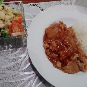 豚と白菜のカレー