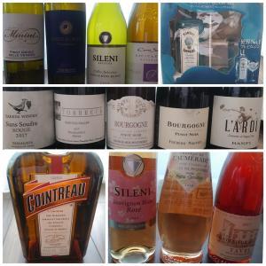 春のワインとボンベイサファイア