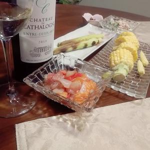 夏野菜と海鮮