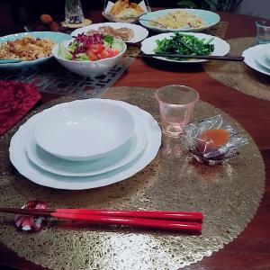 麻婆豆腐や青菜炒めで中華