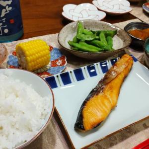 時鮭にときめいた和食