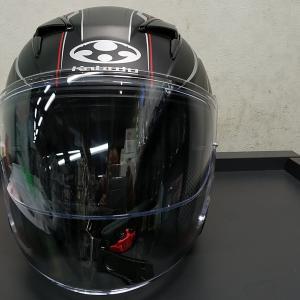 新しいヘルメット(EXCEED CLAW)