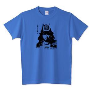 長宗我部元親 戦国武将 歴史人物Tシャツ Historical Figures 095