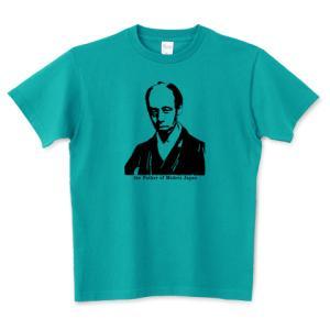 小栗上野介忠順 幕末 幕臣 奉行 歴史人物Tシャツ Historical Figures 099