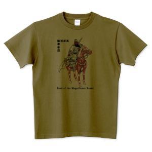 関羽 中国 三国志 蜀漢 歴史人物Tシャツ Historical Figures 106
