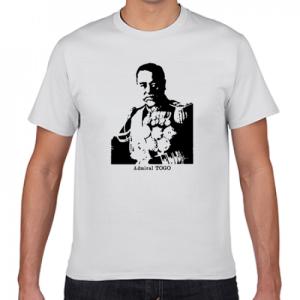 東郷平八郎 明治 帝國海軍 提督 軍神 歴史人物Tシャツ001