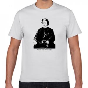 土方歳三 幕末 新撰組 歴史人物Tシャツ002
