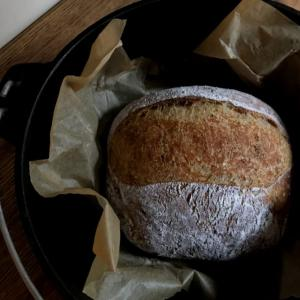 捏ねないパンno knead bread が我が家の定番になりつつあります。