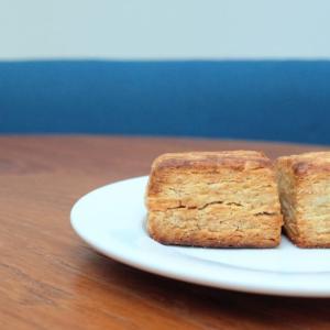 (レシピあり)米粉と小麦粉のちょうどいいスコーン