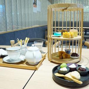 京都で和風アフタヌーンティーを楽しむ