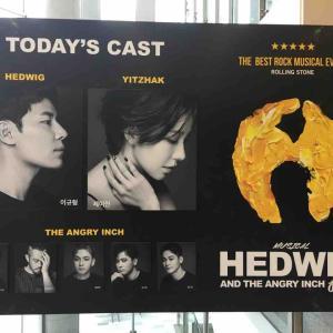 韓国ミュージカル「ヘドウィグ」イギュヒョンさん初公演
