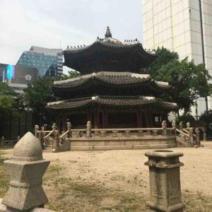 ソウル市庁の横にあるパワースポット「円丘壇」
