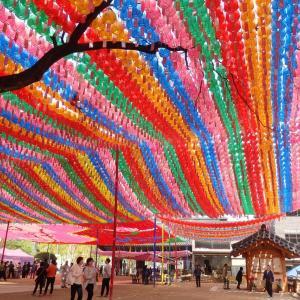 韓国の祝日 御釈迦様の誕生日 부처님오신날 灯篭祭り等関連イベント延期