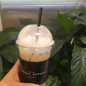 免疫力アップ? 正官庄の直営カフェCAFE SAPOONSAPOON江南店 사푼사푼 강남역점