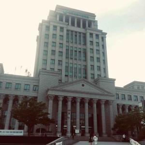韓国外国語大学のキャンパスをお散歩してきた
