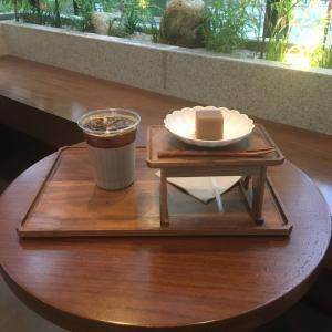 乙支路入口駅 和風お洒落カフェで美味しい羊羹 赤糖