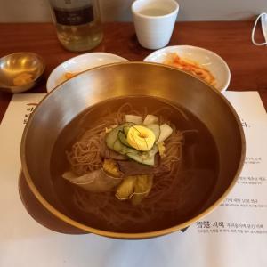 平壌冷麺にチャレンジ! ミミダム 미미담 薬水本店
