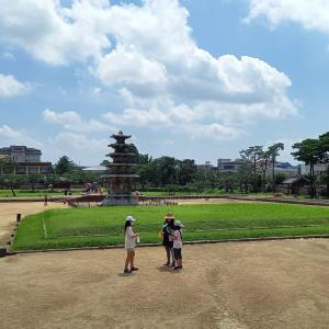 韓国地方旅行 扶余編 百済から時間が連続している遺跡 定林寺址