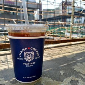 ドラマ「ヴィンチェンツォ」所縁 世運清渓商街巡り 梨泰院からやってきた「チャンプコーヒー」 CHAMP COFFEE