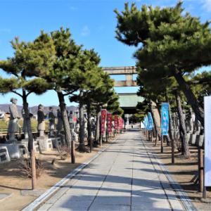 赤穂で牡蠣キャン 3 赤穂大石神社