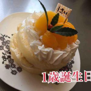 【1歳誕生日】手作り誕生日ケーキ‼︎