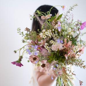 9月の季節花クラスレポ【秋色のブーケ】