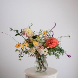 10月の季節花クラスレポ