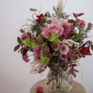 11月の季節花クラスレポ