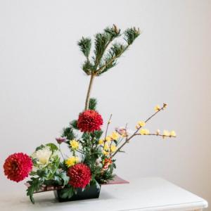 【12月後半】お正月花レッスンレポ