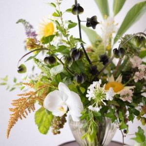 7月の季節花クラスレポ