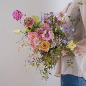 9月の季節花クラスレポ「真似した、真似された!」と花業界の知的財産権について