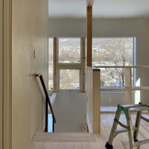 風景を望む住宅、完了検査【Project KA】