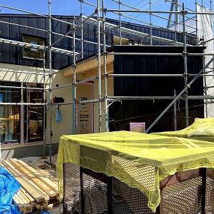 札幌市の二世帯住宅、仕上げ工程へ…。