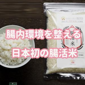 腸活米口コミとお得に購入すには!腸内環境を手軽に整える日本初のお米