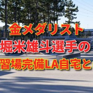堀米雄斗選手のスケートボード金メダル獲得までの道のり!高校卒業後単身渡米!練習場完備ロサンゼルスの自宅とは